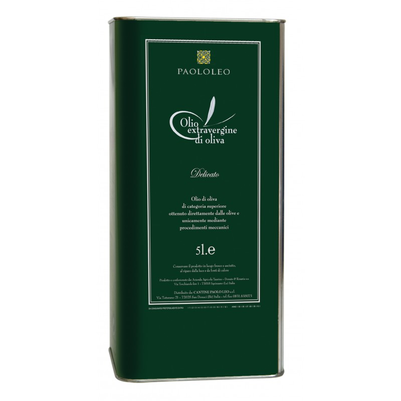 Cantine PaoloLeo: Olio Extra Vergine Delicato, Olio Extra Vergine d' oliva
